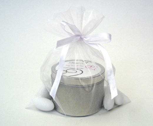 Candle Tin Bomboniere Nimbus Candles Soy Wax Candles