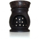 Soapstone Oil Burner - Dark