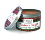 Large Christmas Delight Soy Candle