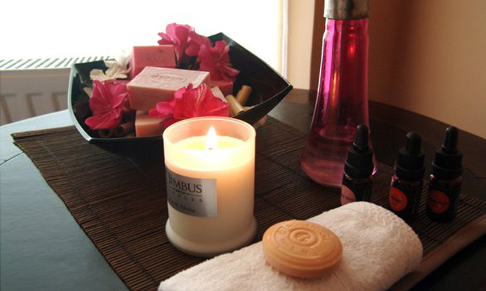 hotel and spa soy candle